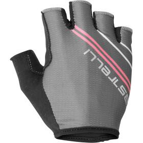 Castelli Dolcissima 2 Gloves Women dark grey/giro pink
